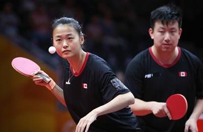 Olympic Team 2020 - XD Eugene Wang / Mo Zhang